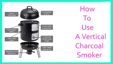 Photo of How To Use A Vertical Charcoal Smoker