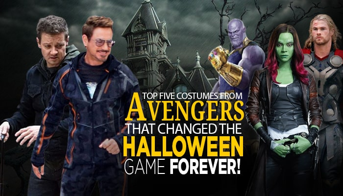 Top Five costumes from Avengers that changed the Halloween game forever