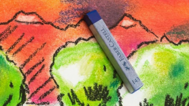Photo of How to use soft pastels for drawing and coloring