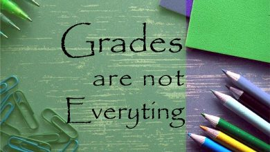 Photo of Grades are important but not everything