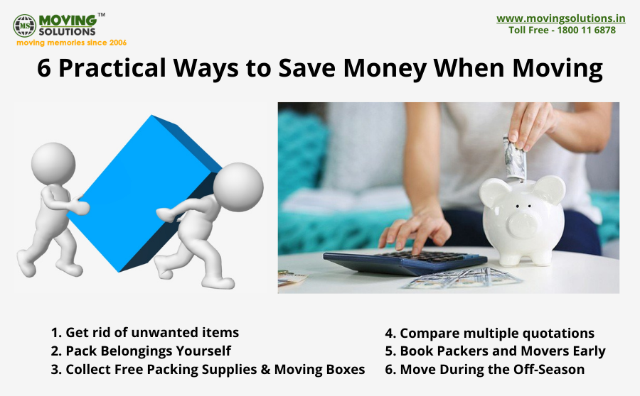 6 Practical Ways to Save Money When Moving